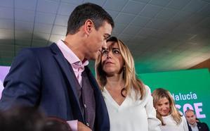 Pedro Sánchez reclama una victoria «rotunda» del PSOE en Andalucía para evitar el bloqueo