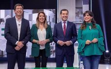 Las frases de los candidatos andaluces en el debate