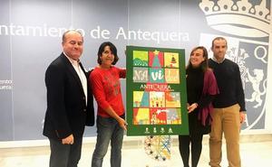 Mavi León Villar firma la campaña de Navidad de Antequera 2018