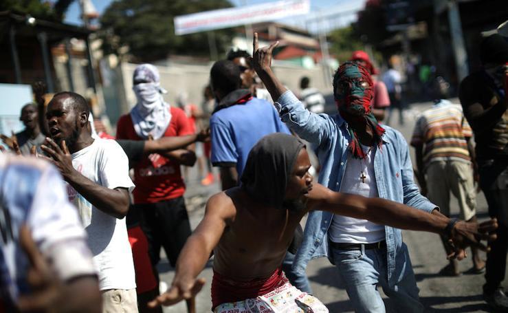Las imágenes de la huelga general en Haití