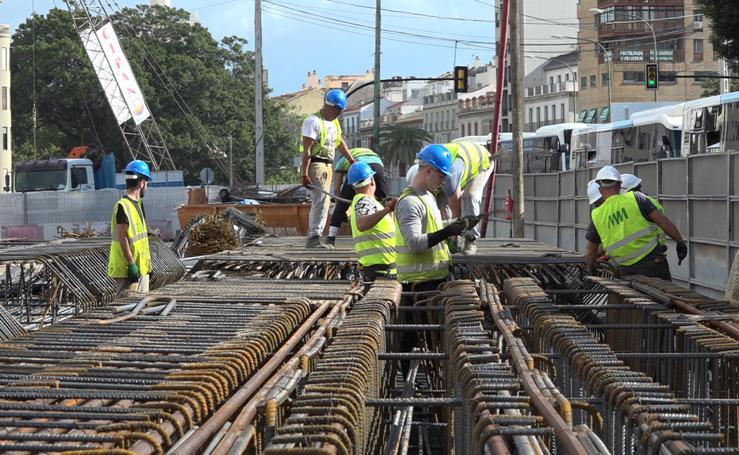 El metro inicia las obras en El Corte Inglés ocho años después