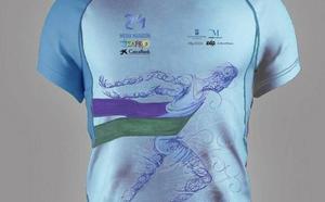 La 29 media maratón Ciudad de Málaga ya tiene camiseta