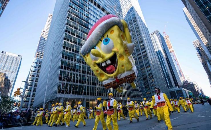 El desfile del Día de Acción de Gracias, en imágenes