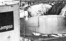 Ocurrió hace 30 años: El incendio de un tanque de Campsa, el principio del Parque de Huelin