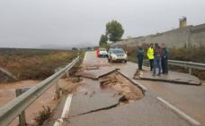 Cortan al tráfico este lunes un tramo de la A-366 entre Ronda y Coín para reparar los daños del temporal