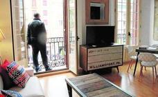 Las plazas de pisos alquilados a turistas se duplican en Málaga capital en el último año