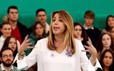 Susana Díaz: «Ahora soy más feminista cada día, más que cuando era joven»