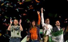 Pablo Iglesias acusa a Susana Díaz en Sevilla de haber elegido Andalucía como «segundo plato»