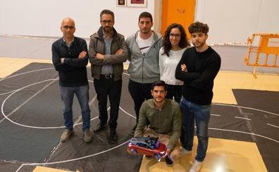 El equipo de la Universidad de Málaga, segundo en la competición nacional de coches autónomos