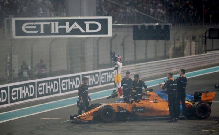 El adiós de Alonso a la F1, en imágenes