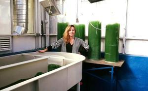 La emprendedora de las microalgas
