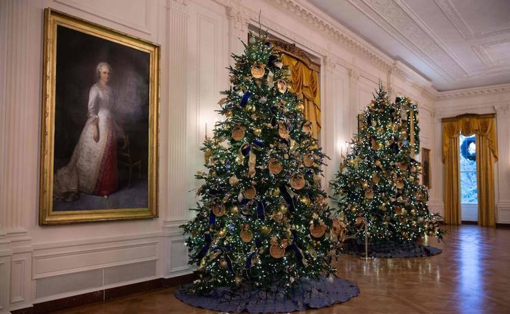 Así prepara la Navidad la Casa Blanca