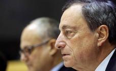 Draghi se suma al eje francoalemán y pide un presupuesto para el euro
