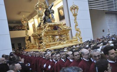 El Cristo de la Misericordia protagonizará el vía crucis oficial de la Agrupación de Cofradías el año próximo