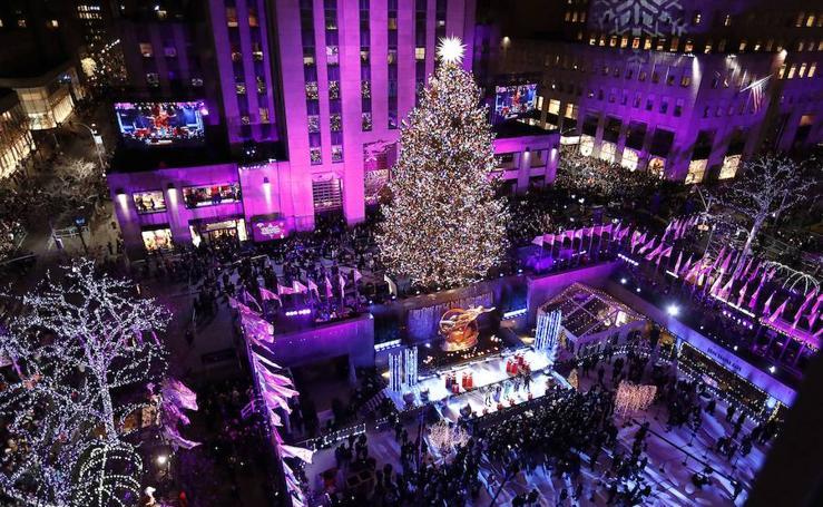 La Navidad llega a Nueva york