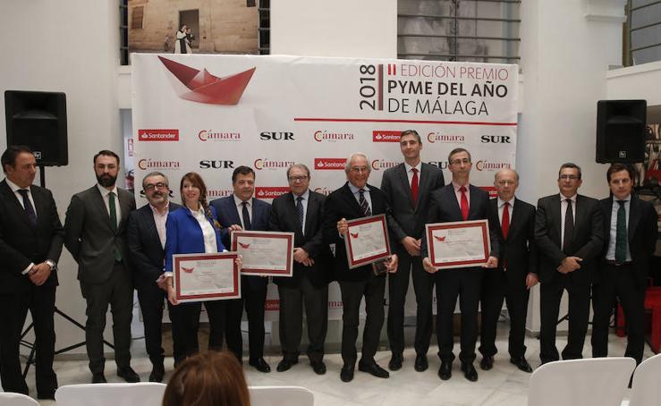 Entrega del Premio Pyme del año 2018