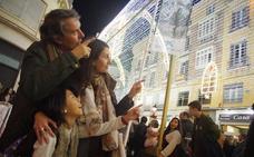 Vídeo del espectáculo de luz y sonido de la calle Larios de Málaga 2018