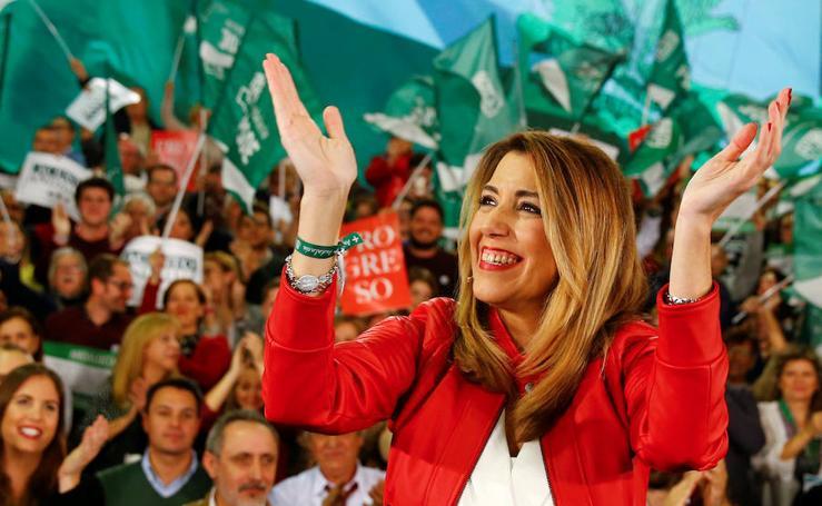 Así ha sido el último día de campaña de las elecciones andaluzas