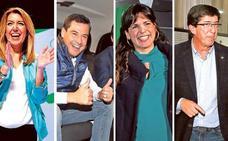 Los candidatos disfrutan de los suyos en la jornada de reflexión