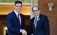 El Gobierno catalán rechaza la cita de Torra y Sánchez porque exige una cumbre España-Cataluña
