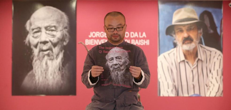 Jorge Rando expondrá en el Museo Qi Baishi