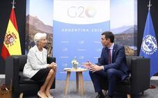 Sánchez reivindica ante el G-20 sus políticas en inmigración y cambio climático