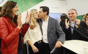 Juanma Moreno (PP): «El cambio ha ganado las elecciones en Andalucía»