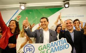 El 2D trae un vuelco político histórico en Andalucía
