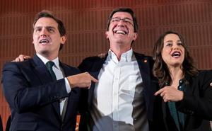 Marín se postula para presidir la Junta: «Este cambio sólo puede liderarlo Ciudadanos»