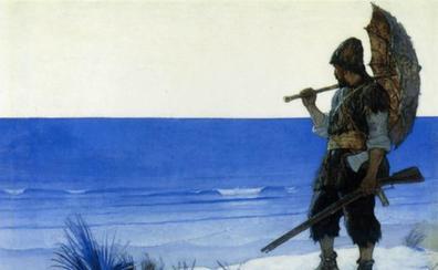 Los reflejos infinitos del espejo de Robinson Crusoe