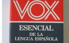 Los editores de diccionarios Vox admiten que les «toca las narices» que exista un partido con el mismo nombre