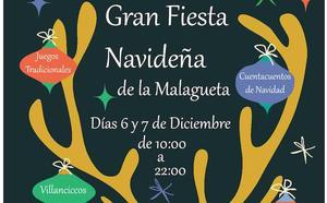 Actividades para toda la familia en la Gran Fiesta Navideña de La Malagueta