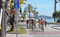 Paseo marítimo Pablo Ruiz Picasso: piden un carril bici ya