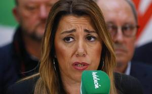El PSOE abre la puerta a la dimisión de Susana Díaz