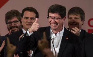 Juan Marín emplaza a Susana Díaz a apoyar un gobierno de Ciudadanos