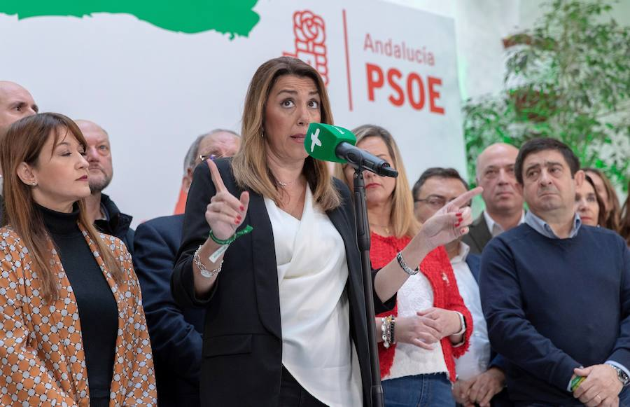 Susana Díaz se enroca: «Si hubiera perdido me habría ido, pero he ganado las elecciones»