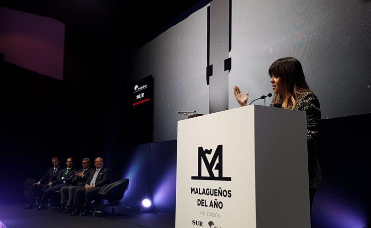 Las mejores imágenes de la Gala Malagueños del Año de SUR