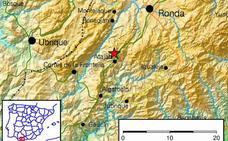 Registrado un terremoto de magnitud 3 en Atajate
