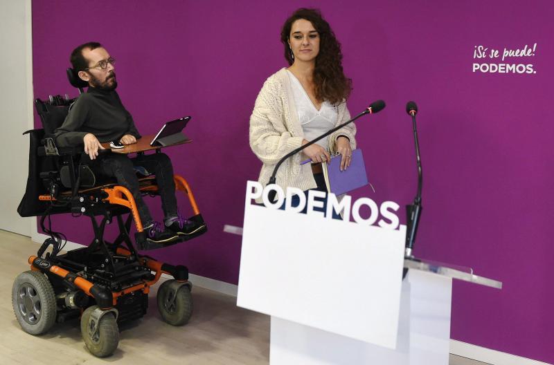 Podemos asume que debe rectificar fallos pero respalda a Teresa Rodríguez