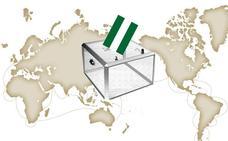 Así votaron los malagueños que residen en el extranjero