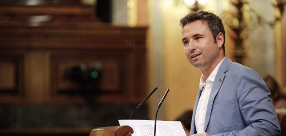 El malagueño Guillermo Díaz, candidato a diputado revelación en los premios parlamentarios