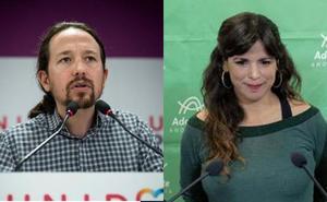 Pablo Iglesias anima a Ciudadanos a proponer un pacto alternativo, que Teresa Rodríguez descarta