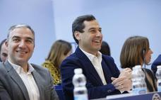 Moreno pide «sensatez y coherencia» a Ciudadanos para que haya un cambio liderado por el PP