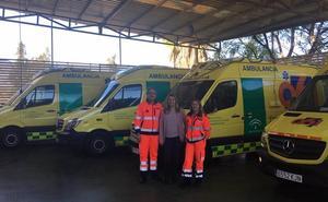 Salud dota al 061 de Málaga de cuatro nuevas uvis móviles que mejoran la atención del paciente