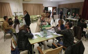El recuento definitivo de las elecciones andaluzas no altera los resultados en Málaga