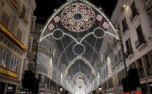 Málaga entra en el 'ranking' de los cinco destinos de turismo de luces de Navidad