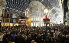 Lleno total en el puente hacia la Navidad en Málaga