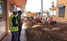 Fuengirola prevé finalizar la remodelación de la calle Miguel Ángel en unos días