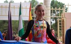 Irene García gana la Copa de Andalucía de duatlón cros
