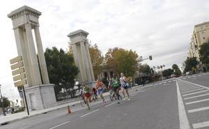 Cortes de tráfico con motivo del Maratón de Málaga
